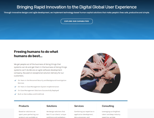 Chainbridge Solutions Launches New Website Design